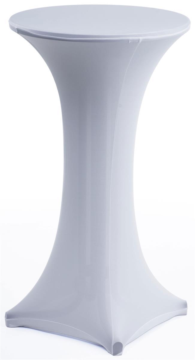 White Spandex Tablecloth Tradeshow Throw Amp Highboy Set