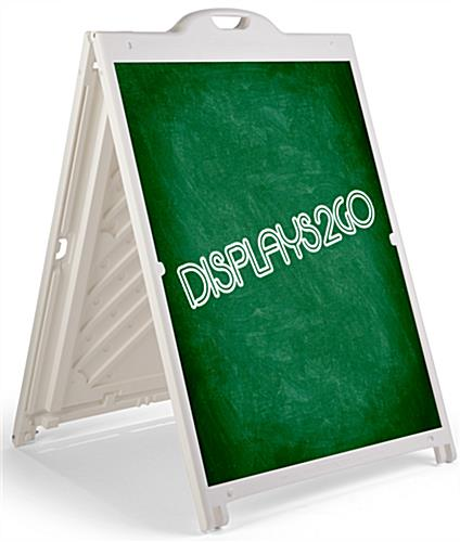 36 x 48 Plastic Sandwich Board with Coroplast® Sheets