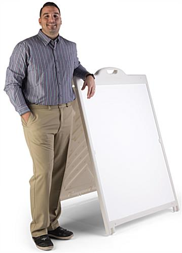 36 x 48 Plastic Sandwich Board with Handle