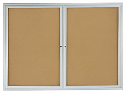 framed cork boards