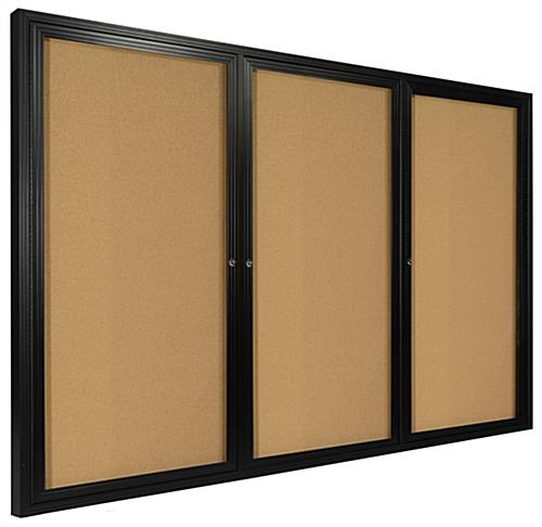 large corkboards