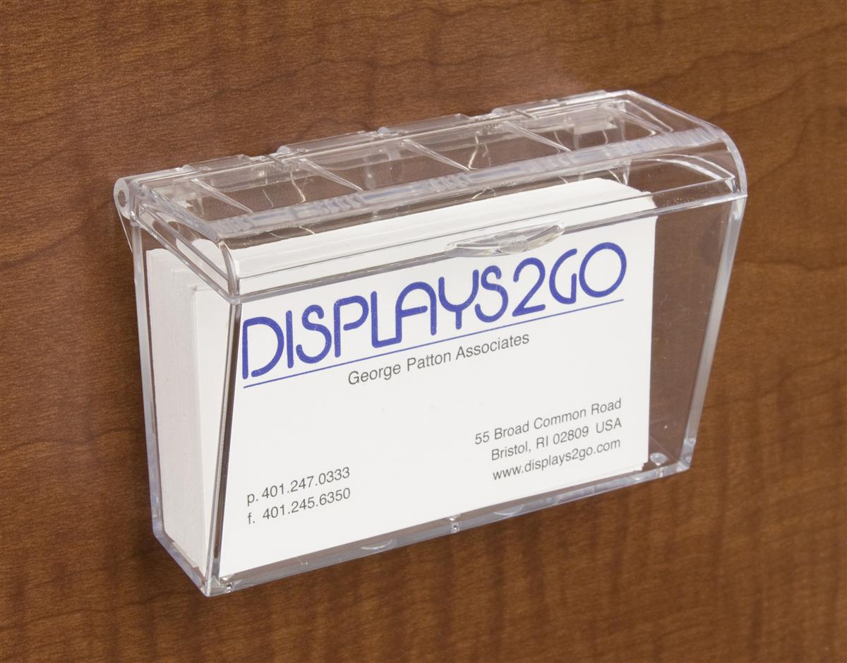 Outdoor Business Card Holder   Fits Up to 60 Cards