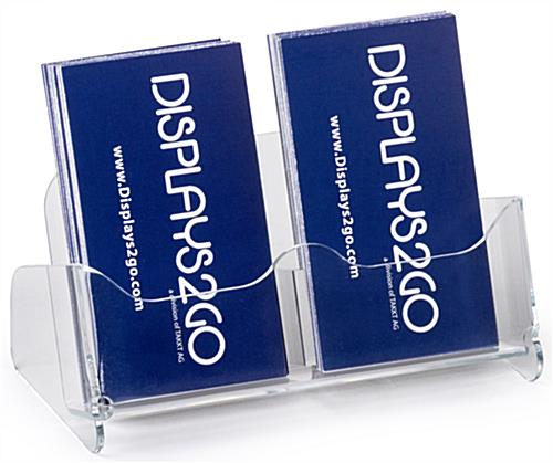 Unique Business Card Holder for Desktop