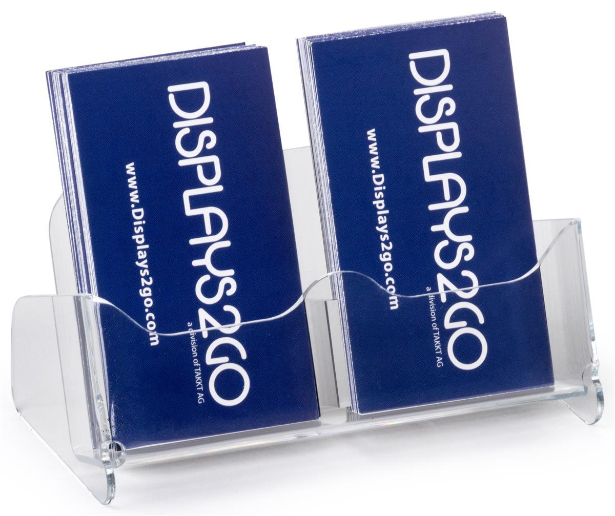 unique business card holder  vertical desktop design