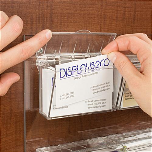 Exterior Business Card Holder