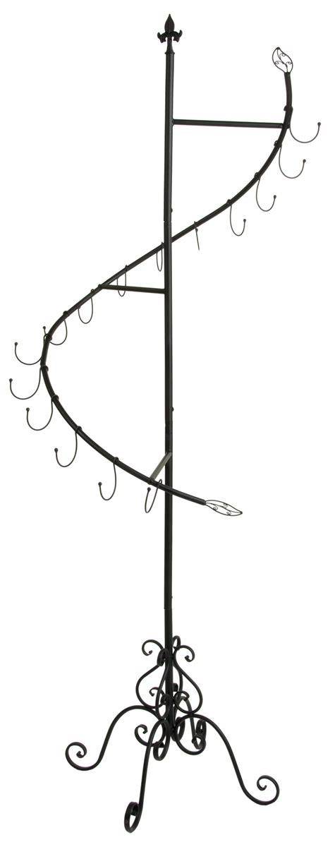 Curved Rack Display Decorative Purse Tree For Retail
