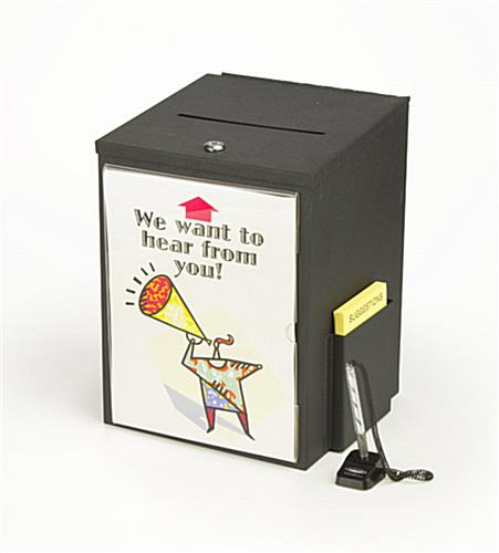 locking suggestion box