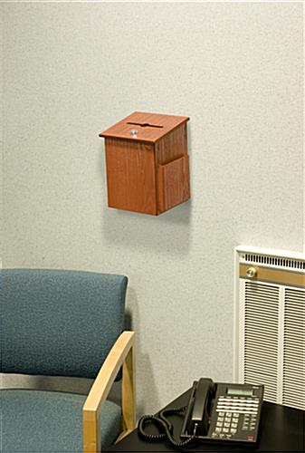 Wall Mounting Charity Box
