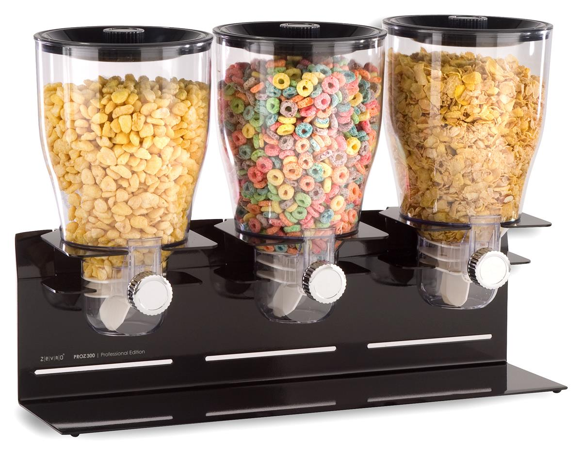 3 1 Gallon Candy Dispensers Attach To Wall Or Countertop