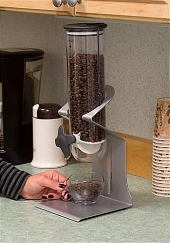 Coffee Bean Dispenser Holds 75 Gallons
