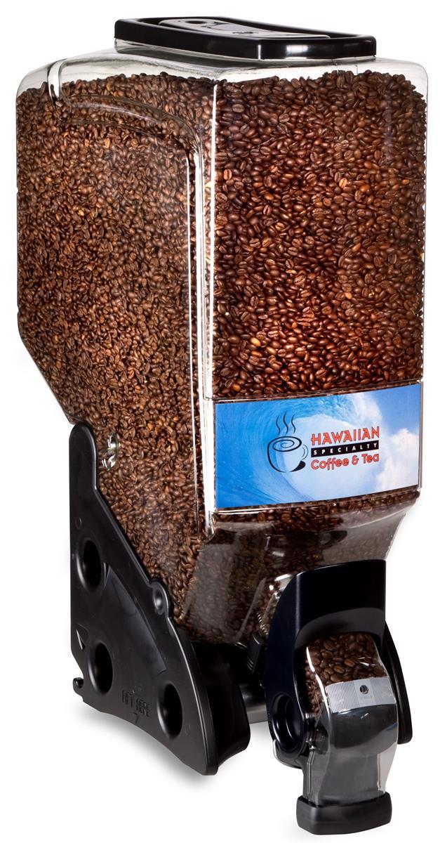 Displays2go 12 Gallon Food Dispenser, Continuous Flow - B...
