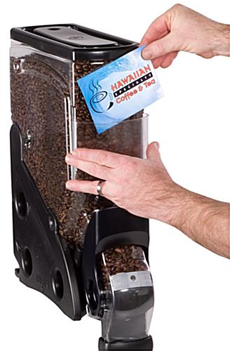 3-gallon food dispenser