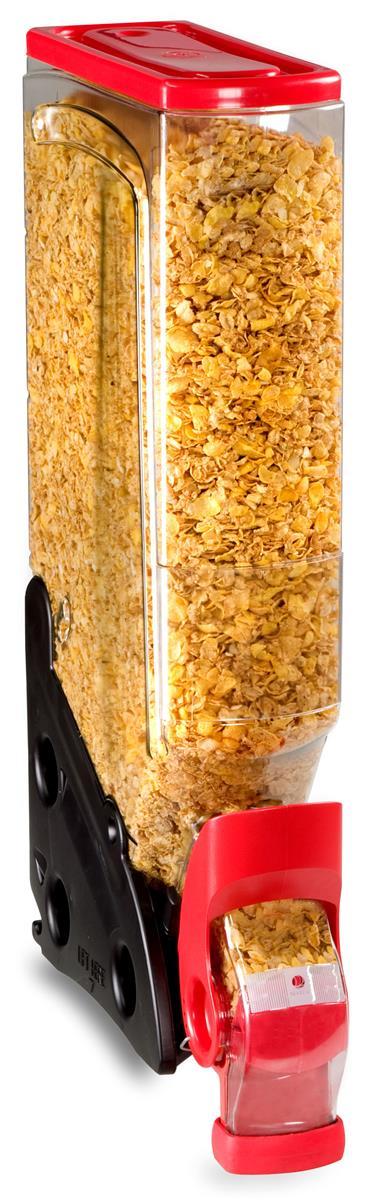 Displays2go 5 Gallon Food Dispenser w/ Label Holder, Cont...