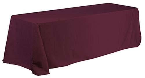 Linen Table Cover Fits 6 Foot Rectangular Table
