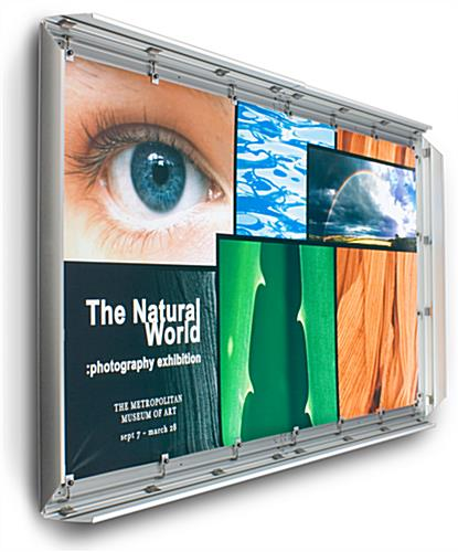 4' x 7' Silver Banner Stretching Frame is Large Format