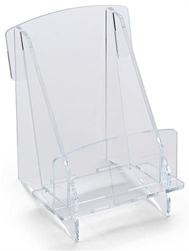 Clear Acrylic Brochure Tray Assembled