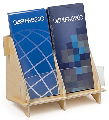 2 Pocket Brochure Holder for Information Centers
