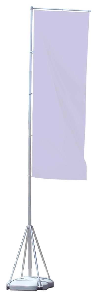 Displays2go 17-foot Outdoor Banner Flag Stand, Graphic So...