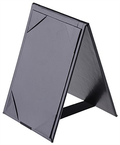 Synthetic Leather Table Tent