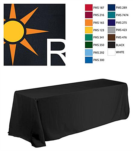 promotional tablecloth