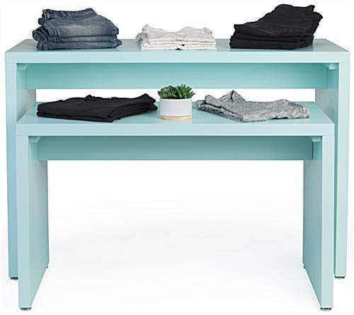 Contemporary Nesting Retail Block Console Set