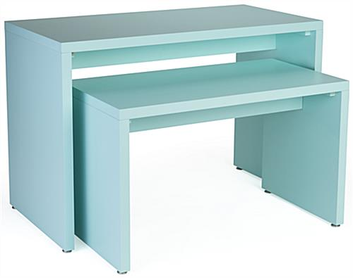 Nesting Retail Block Console Set with MDF Construction