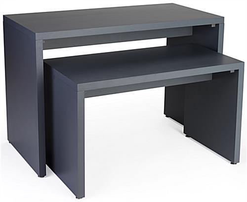 MDF Constructed Block Nesting Console Table Set