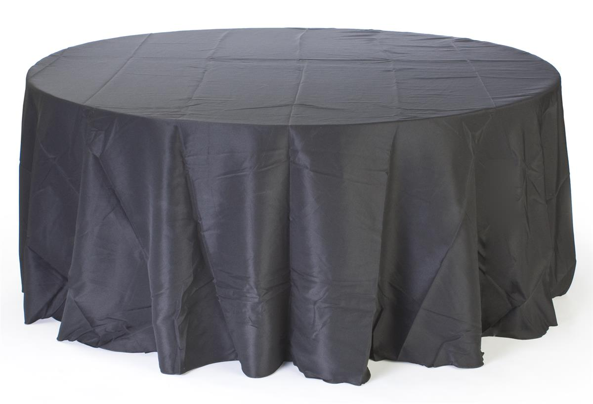 Round Table Skirt Provides A Deluxe Look At A Discount Price