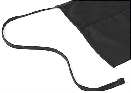 Short Black Waist Apron