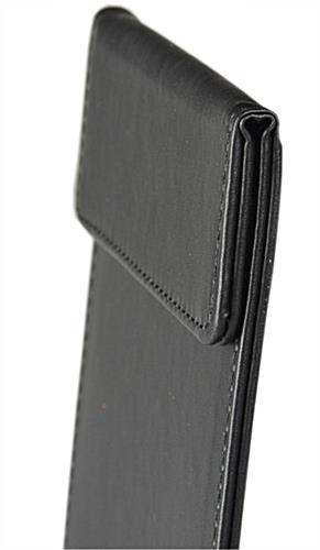 Leather Menu Holder