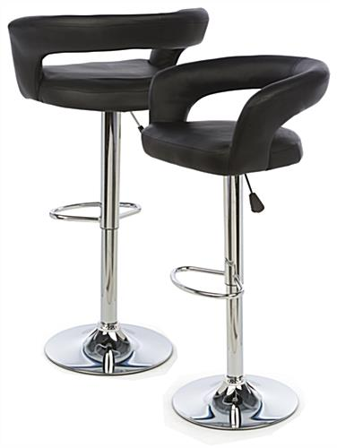 Pneumatic Bar Stool is Rotating & Height Adjustable
