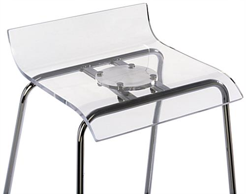 Chrome Bar Stool for Trade Shows