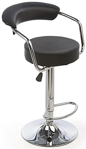 Bar Stool with Gas Lift for Trade Shows & Conferences