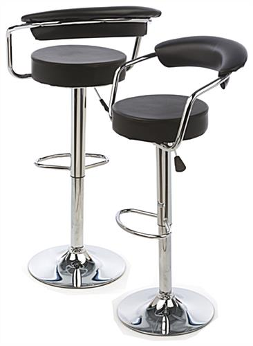 Bar Stool with Gas Lift is Rotating