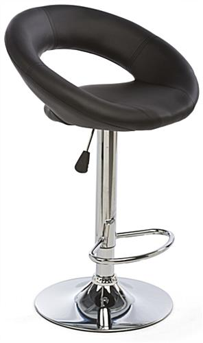 Hydraulic Bar Chair is Height Adjustable