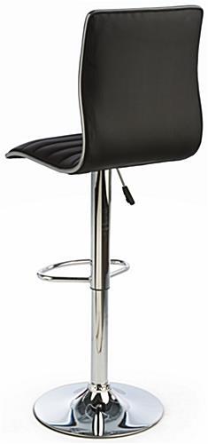 Adjustable Height Bar Chair Ergonomic Leatherette