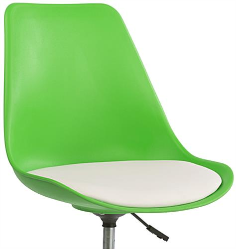 Bar Lounge Chair, Cushioned Seat for Comfort
