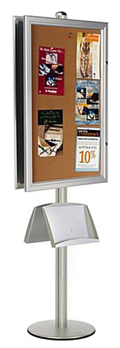 24x36 enclosed bulletin boards