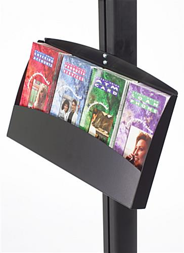 Leaflet Holder for Display Poles