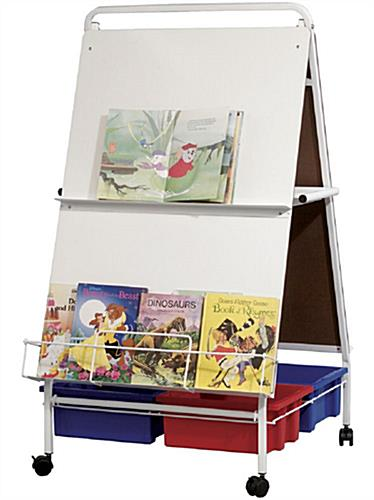 All-In-One Folding Wheasel with Book Rack