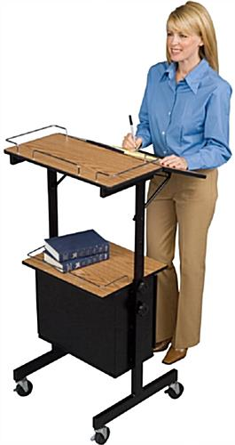 Mobile Laptop Presentation Stand