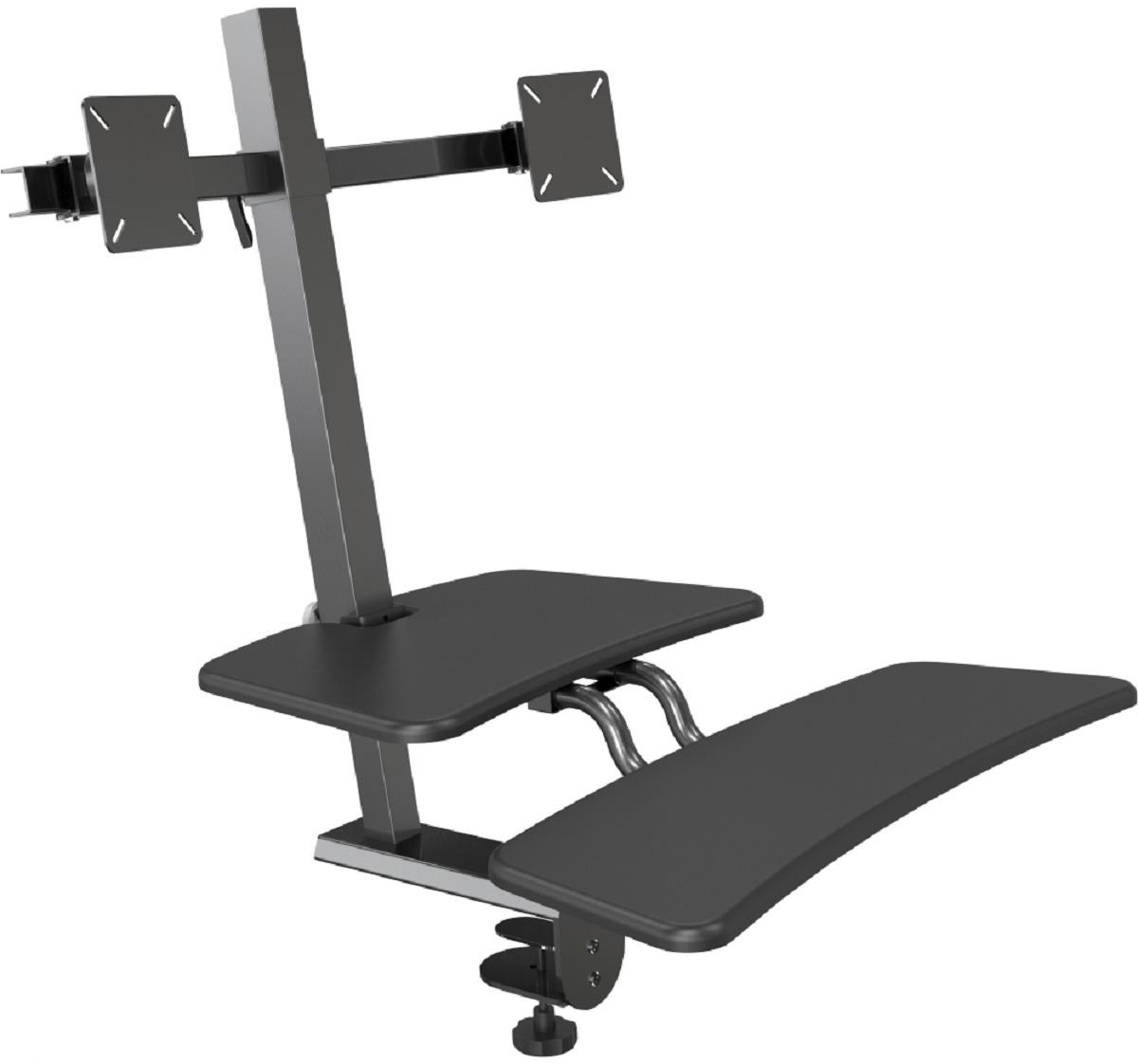 Sit Stand Desk Attachment Tilting Amp Panning Brackets