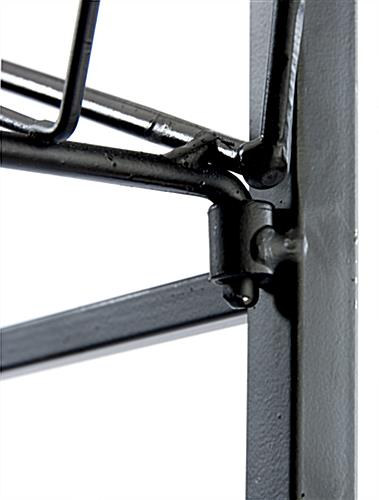 Wire Bakers Rack 5 Gravity Shelves Amp Locking Casters