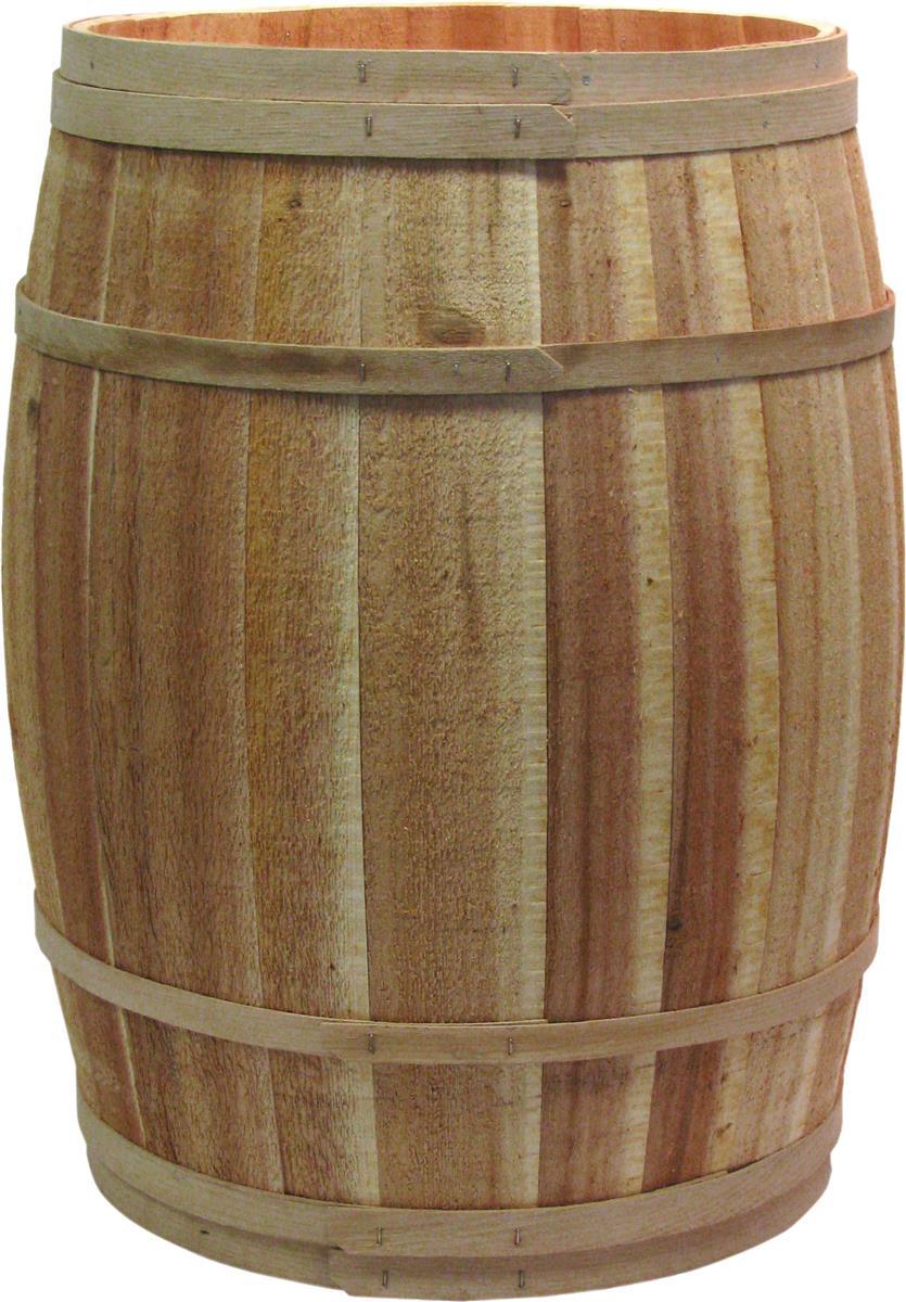 Cedar Barrel Full Size Wooden Cask