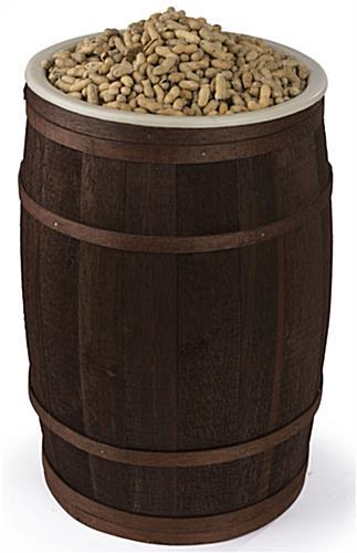 Wooden Food Storage Barrel Oak And Cedar