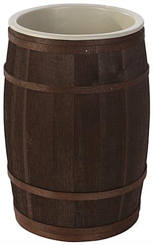 Country Style Wooden Food Storage Barrel ... & Wooden Food Storage Barrel | Oak and Cedar