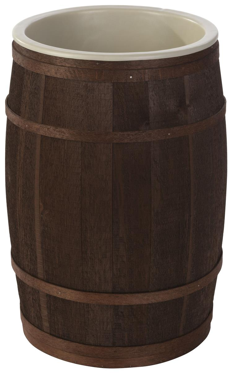 Wooden Food Storage Barrel Oak And Cedar