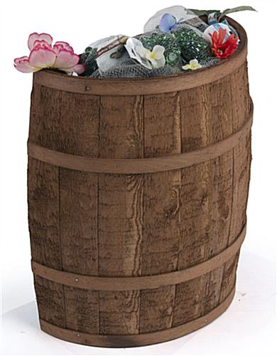 Country Style Flat Backed Barrel