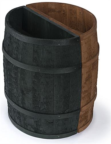 Flat Backed Barrel for Apple Orchards
