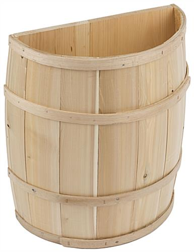 Rustic Decorative Storage Barrel